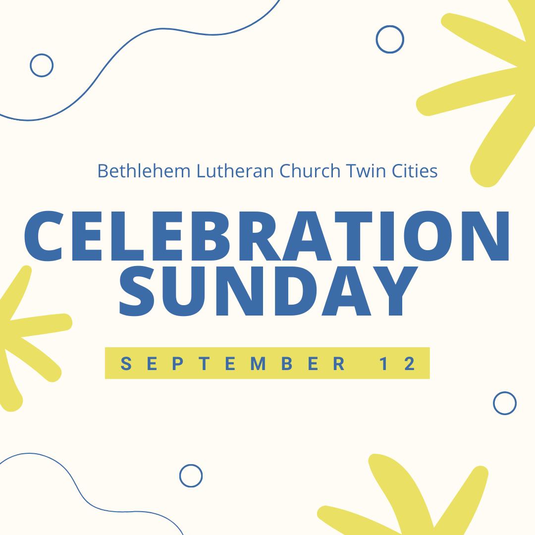 Celebration Sunday 2021